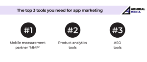 The top 3 tools you need for app marketing by Admiral Media